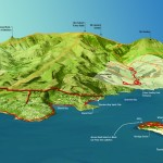 Map of Diamond Harbour and vicinity walks May 2014